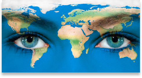 Welt-Augen